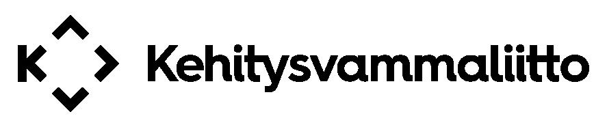 kehitysvammaliitto-logo-2016-rgb-vaaka-musta